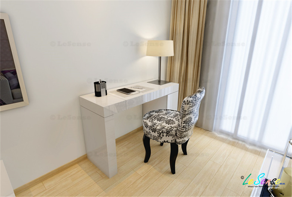 white high gloss dressing table mirror - 28 images