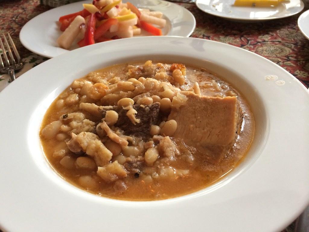cassoulet, served