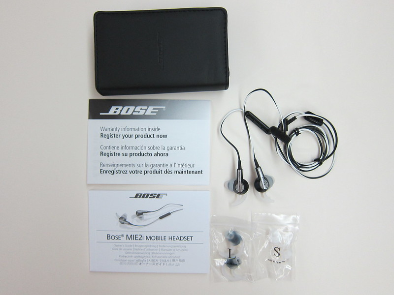 Bose MIE2i - Box Contents