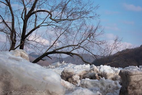 winter ice landscape spring unitedstates pennsylvania decay explorer pa riveradventure alleghenyriver greenplanet canoncamera eastbrady ventureoutdoors bradysbend canon60d garysprague explorepa newkensingtoncameraclub