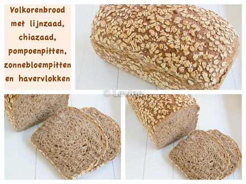 Volkorenbrood met zaadjes en pitten0