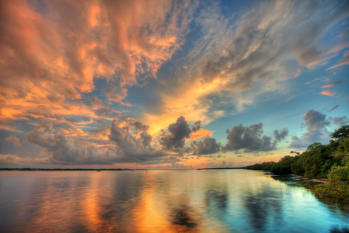 sunset night unitedstates florida cloudy palmetto manateecounty