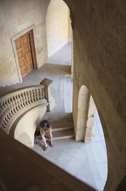 Paleis Karel de Vijfde in Granada