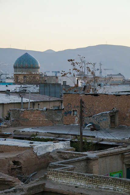 Shiraz old city in the morning シラーズ旧市街の朝