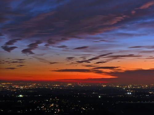 sunset sun tramonto sole lombardia montevecchia