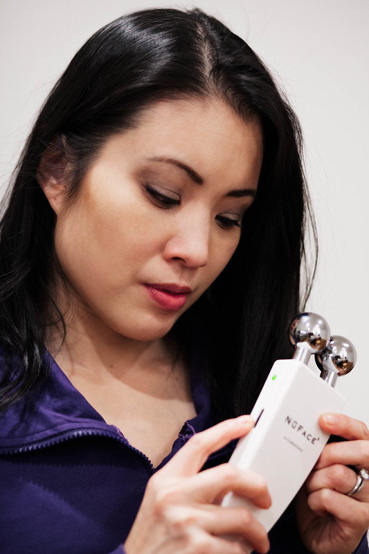 cute & little blog | nuface facial toning device review