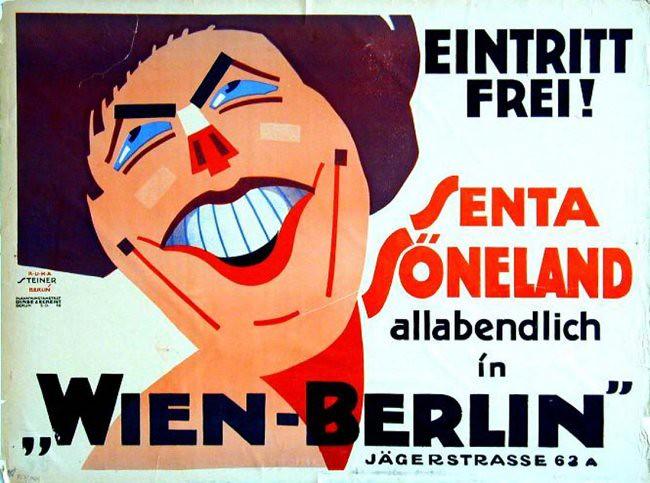 Senta Söneland nightly in Wien / Berlin  (1919)