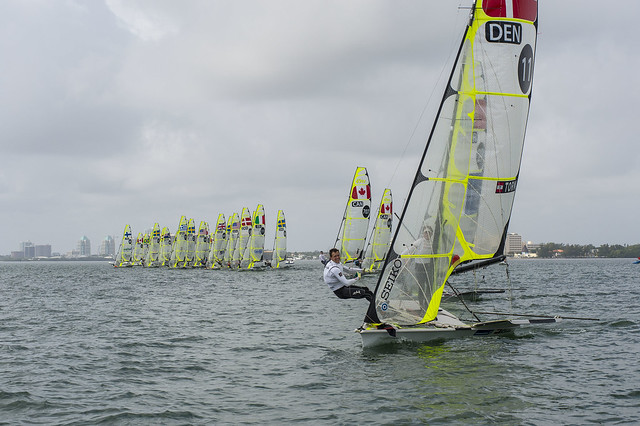 Jonathan Bay & Christopher Thorsell (DEN): 2014 ISAF Sailing World Cup Miami