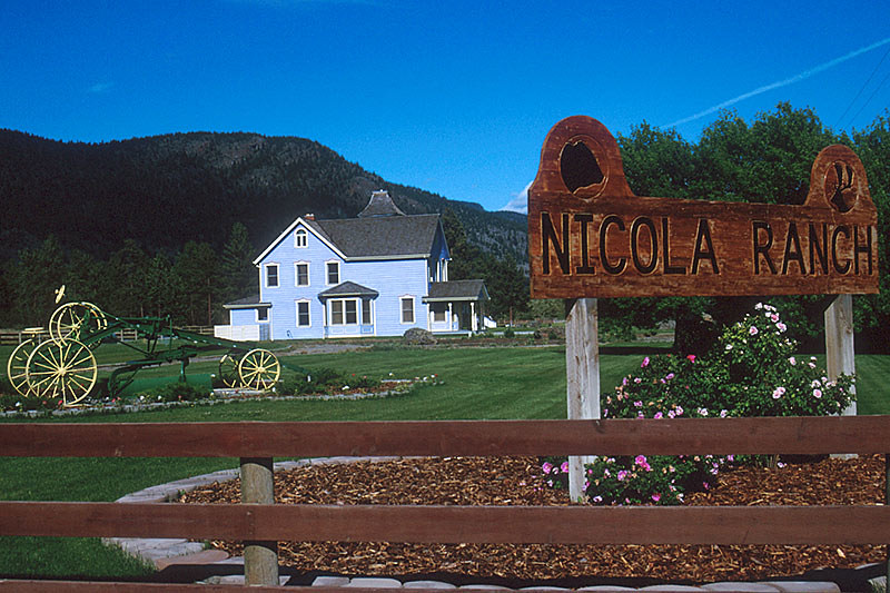 Nicola Ranch near Merritt, Nicola Valley, Thompson Okanagan, British Columbia