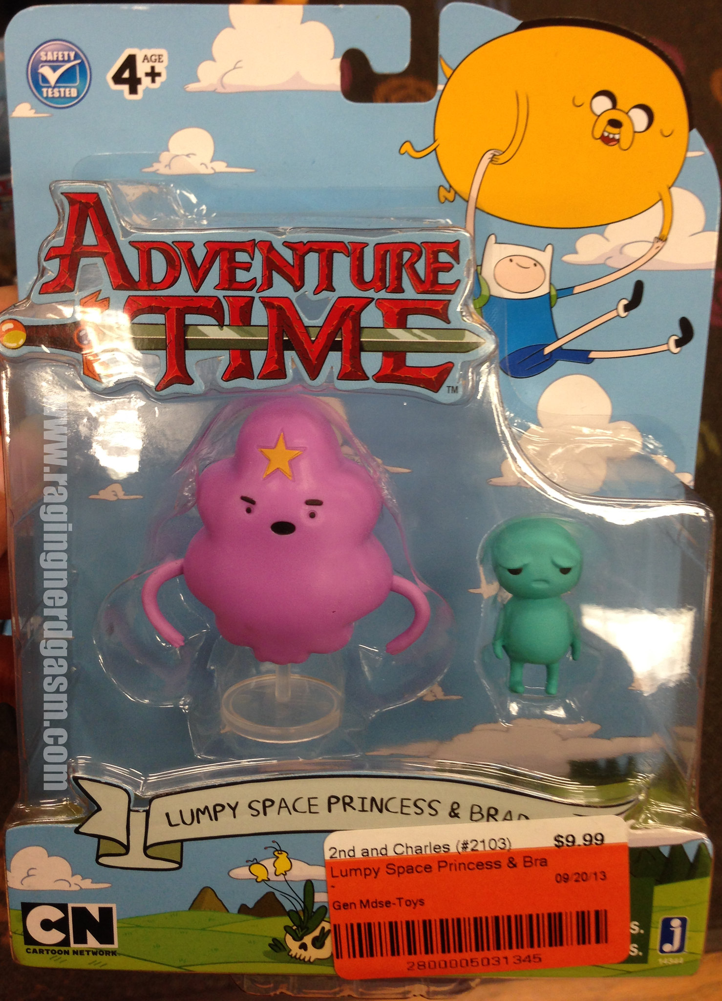 Adventure Time Figures series 3 - Lumpy Space Princess and Brad