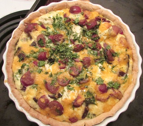 Hot Dog Quiche Recipe