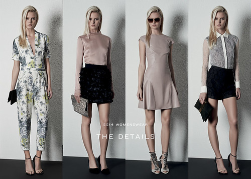 Reiss Womenswear Spring/Summer 2014 collection: Spring/Summer 2014 trends