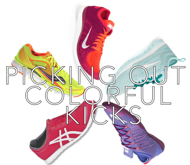 Picking Out Colorful Kicks Workout Shoes