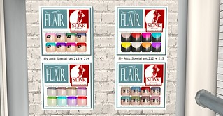 Flair - Nail Sets (Slink avatar enhanced appliers ) @ My Attic
