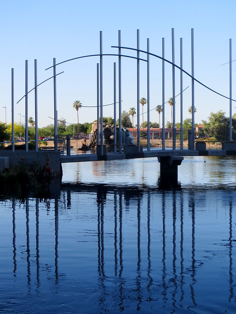 Tempe Arizona, Bridge Structure Photo by Sherrie Thai of ShaireProductions.com