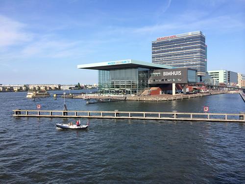 My hotel in Amsterdam