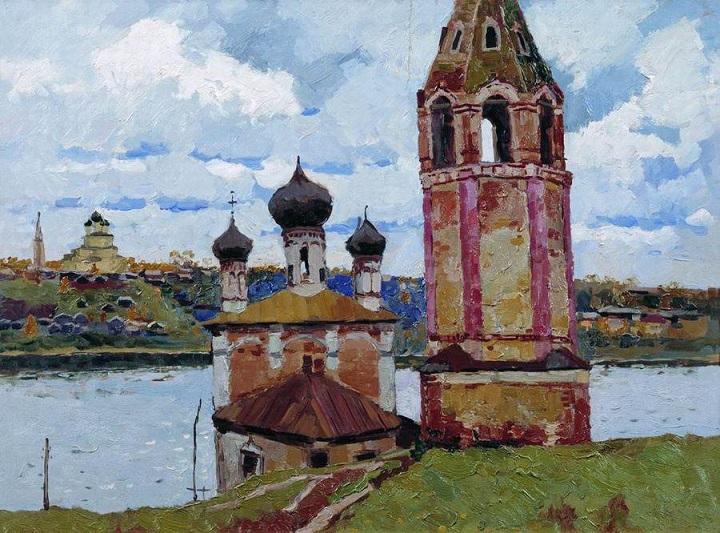 20世纪俄罗斯绘画杰作7