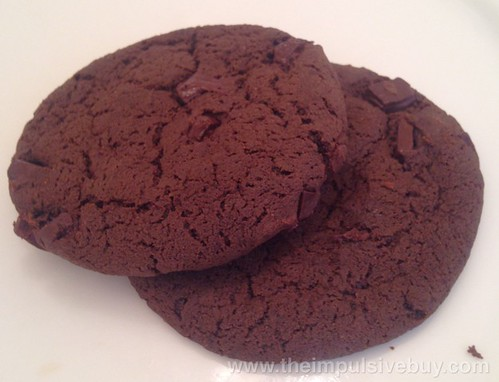 Pepperidge Farm Dessert Shop Chocolate Brownie Soft Dessert Cookies Closeup