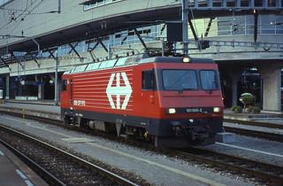 06.07.93   Luzern   SBB    HGe 4/4¹¹ 101.965