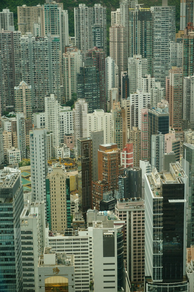 Hong Kong from the 55th floor of the IFC