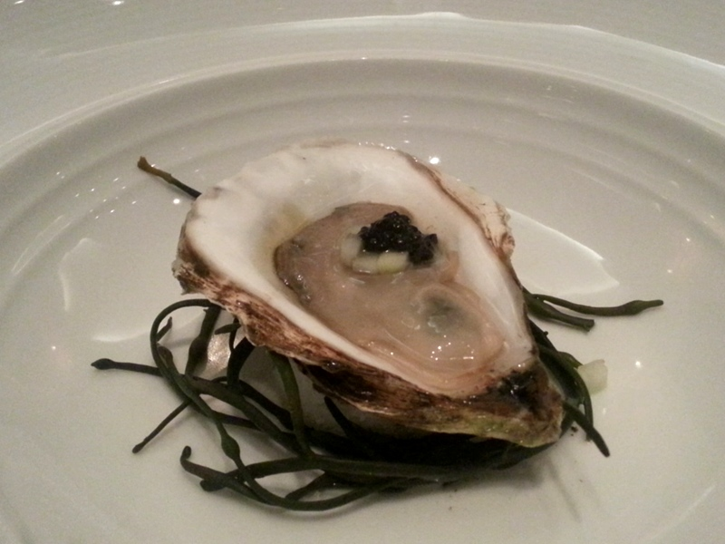 Oyster Amuse Bouche
