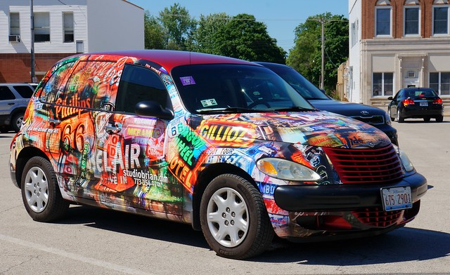 Route 66 PT Cruiser - Designed by Artist Brian Gregory