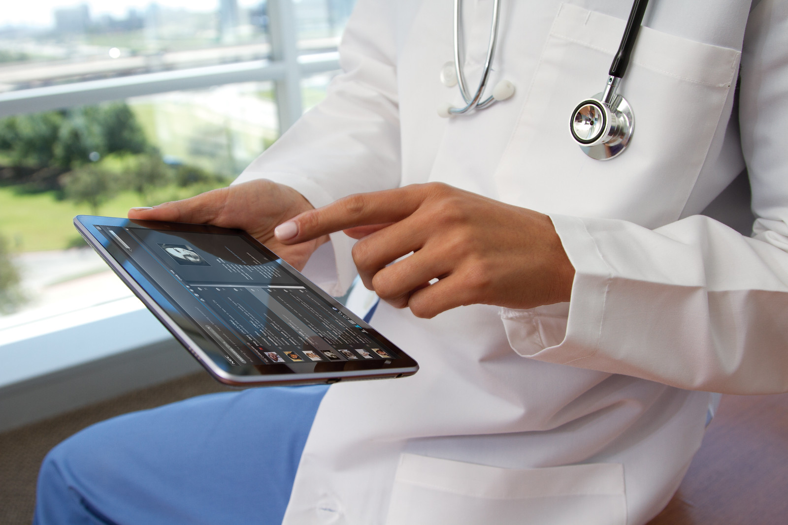 How Technology Has Changed Healthcare Management. Image via NEC Corporation of America.