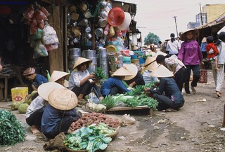 Market Pleiku - Photo by Gary Cantrell