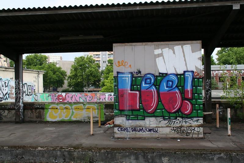 Frankfurt Ostbahnhof - Lee, INK
