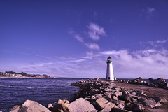 Santa Cruz Lighthouse looking South