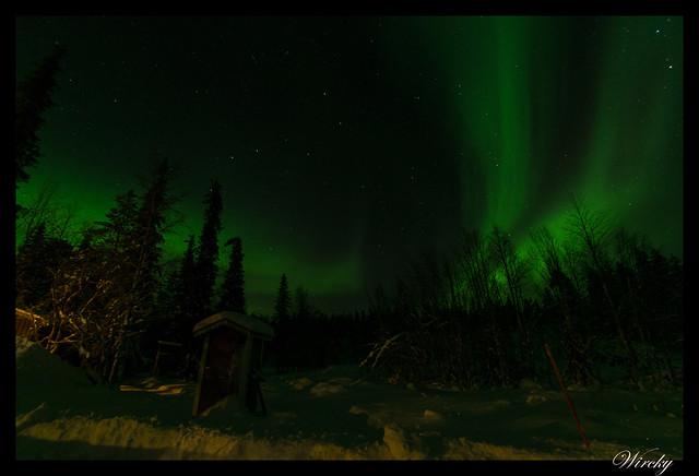 Laponia aurora boreal - Aurora boreal