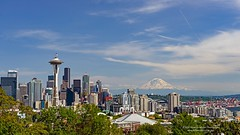 Seattle Skyline with Mount Rainier