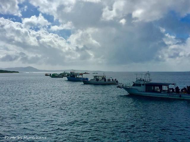 予想どおり、今日は大崎エリアに船がいっぱい!
