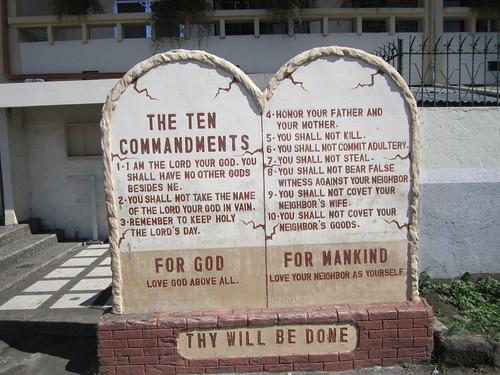 polangui albay bicol luzon ten commandments philippines asia world