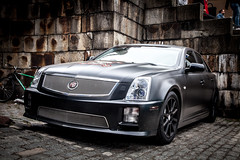 cadillac xlr-v(0.0), supercar(0.0), sports car(0.0), automobile(1.0), automotive exterior(1.0), cadillac sts-v(1.0), cadillac cts-v(1.0), cadillac(1.0), wheel(1.0), vehicle(1.0), automotive design(1.0), cadillac sts(1.0), cadillac cts(1.0), bumper(1.0), sedan(1.0), land vehicle(1.0), luxury vehicle(1.0),