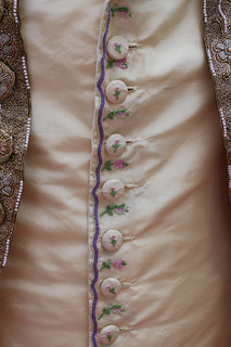 Tambour embroidered waistcoat