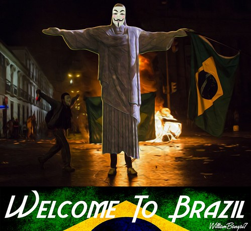 WELCOME TO BRAZIL by WilliamBanzai7/Colonel Flick