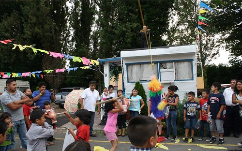 community celebration in Rainbow Haven, Seattle (courtesy of Local Initiatives Support Corporation)