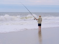 beach, sand, fishing, sea, ocean, casting fishing, recreational fishing, wind wave, surf fishing, mudflat, wave, shore, coast,