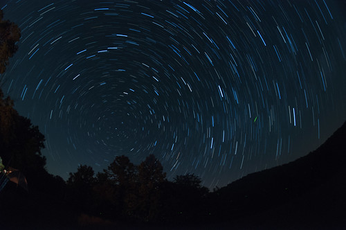 Devil's Rope Star Trail by Jeff.Hamm.Photography