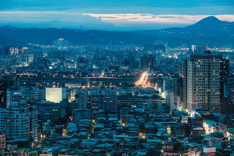 Taipei Blue.