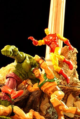 Hulk vs. Avengers
