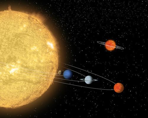 Itsy Bitsy Solar System