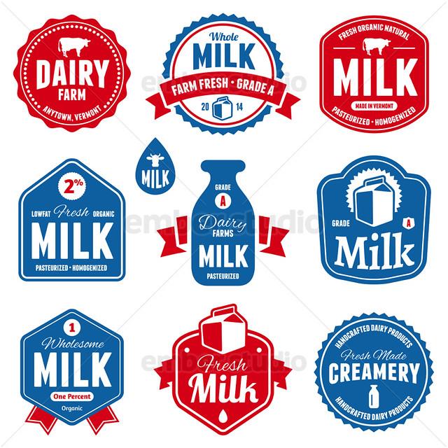 Milk Labels Flickr Photo Sharing