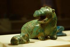 Faience Hippopotamus