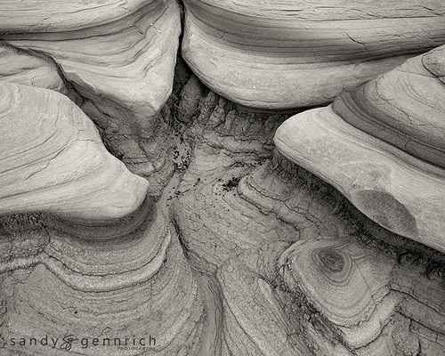 Curves of Time - Bisti Badlands - Farmington NM
