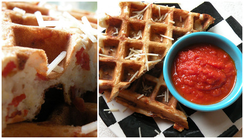 Mrs. Fields Secrets Pepperoni Pizza Waffles