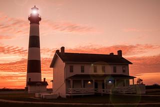 OBX Lighthouse - Flare 6-0 F LR 8-11-13 J120