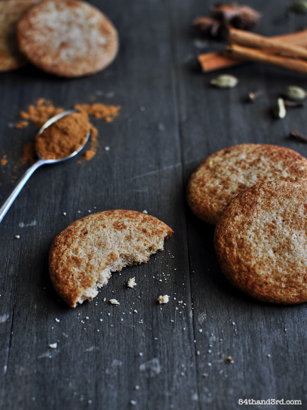 Chai Spiced Snickerdoodles