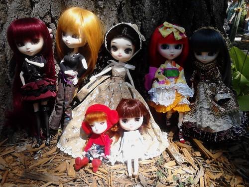 Doll Meet at the Ren Faire 8-18-13